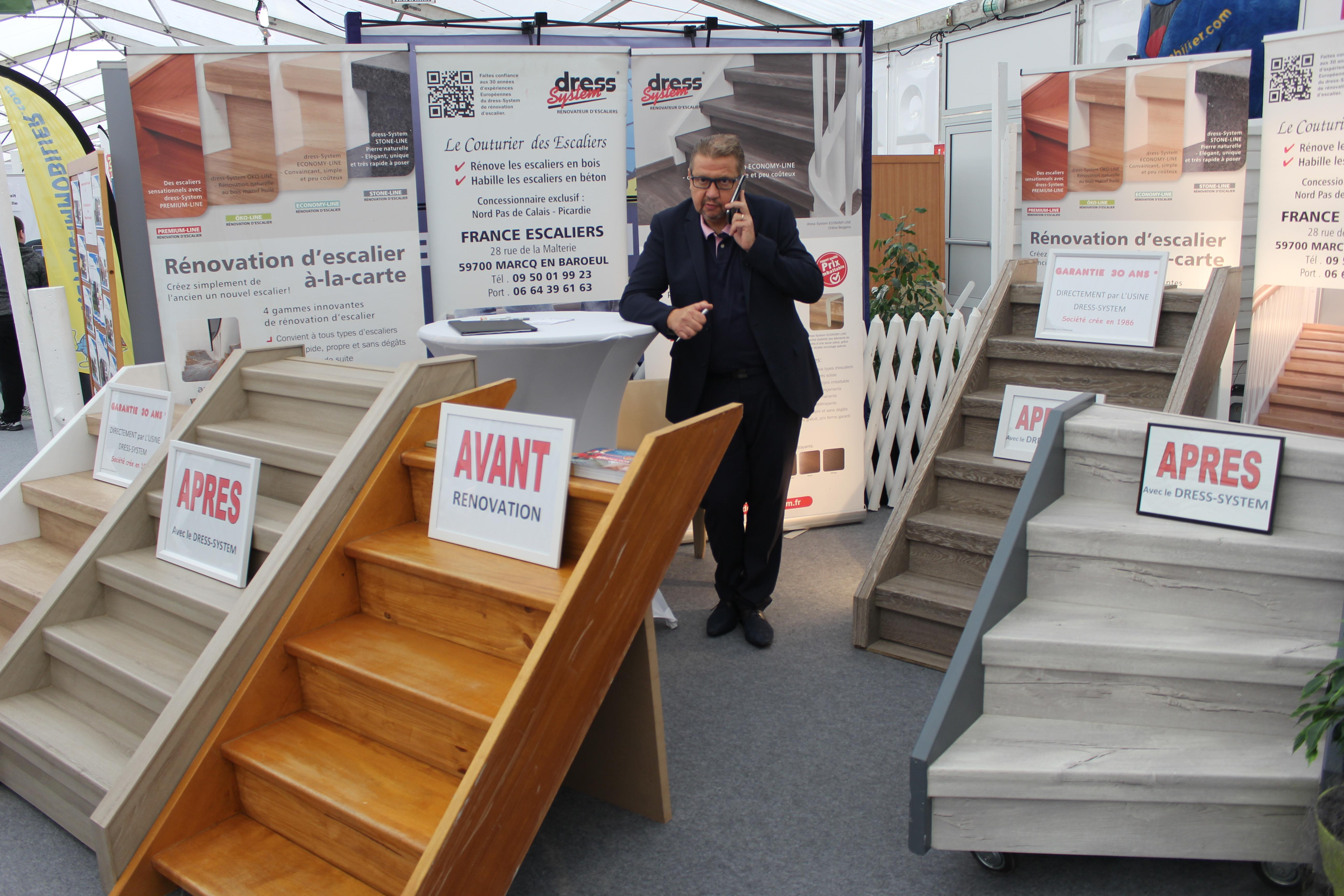 Renovation Escalier Nord Pas De Calais france escaliers - salon de l'entreprise et du terroir