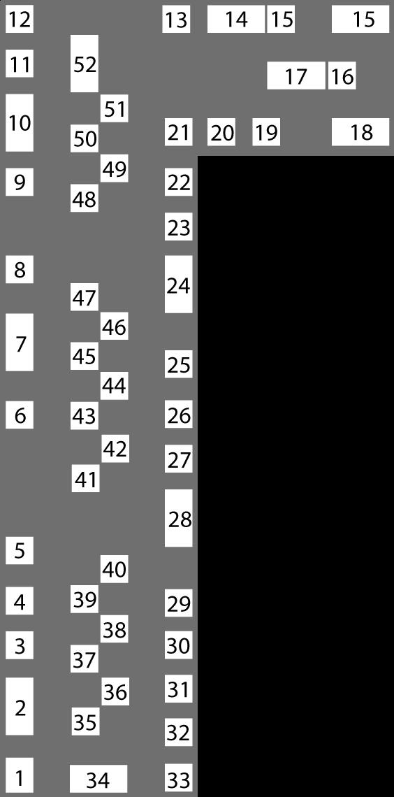 Plan du salon mobile
